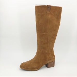 UGG x Anthropologie Arana Boots Suede Tall Riding